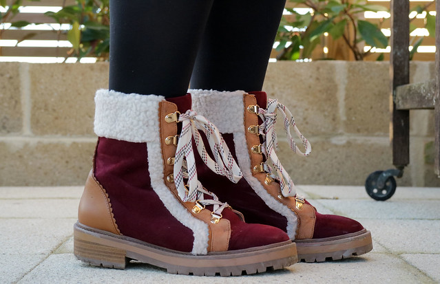 Ready to explore in winter boots