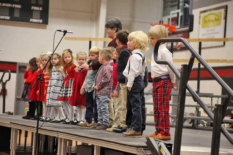 GCS 4yr and kindergarten Christmas program