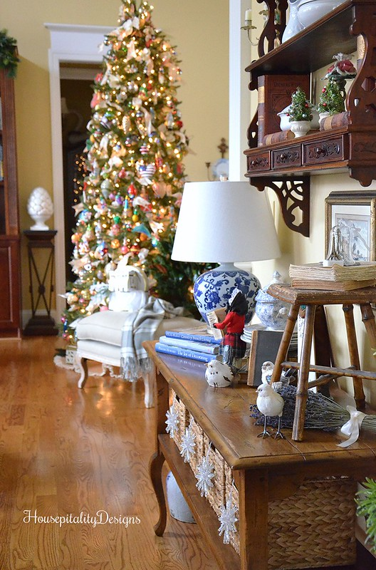 Christmas Tree-Great Room-French Country-Housepitality Designs