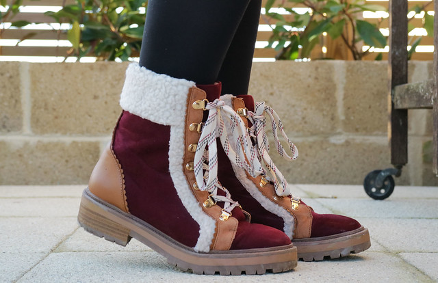 Two-Tone River Island Boots