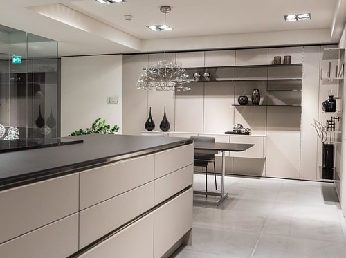 siematic se 8008 lm agate grey and s2 black part of siema. Black Bedroom Furniture Sets. Home Design Ideas