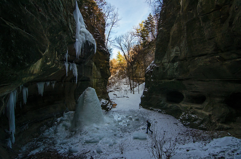 Tonti Canyon in Winter