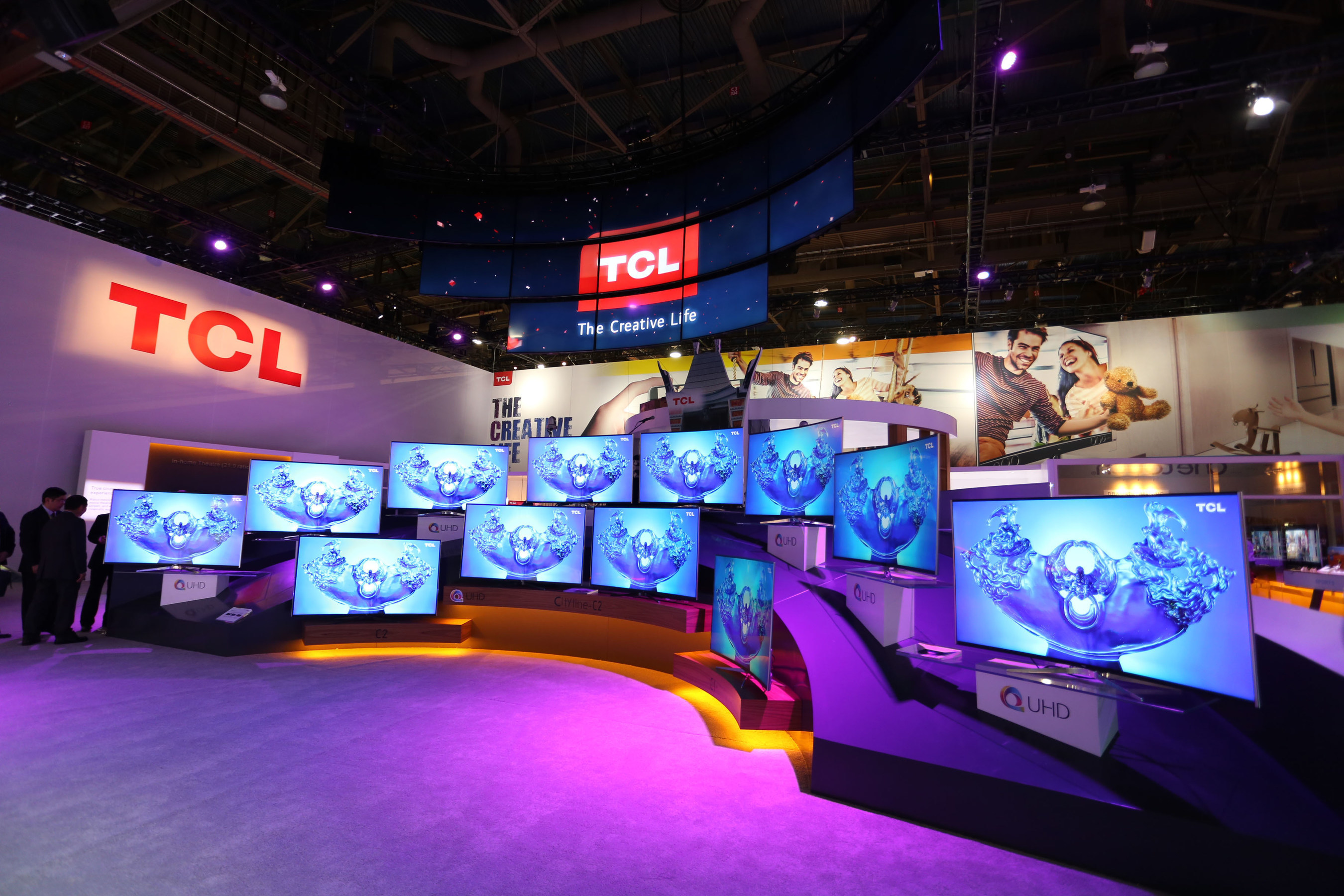 TCL booth at CES 2016 _2_