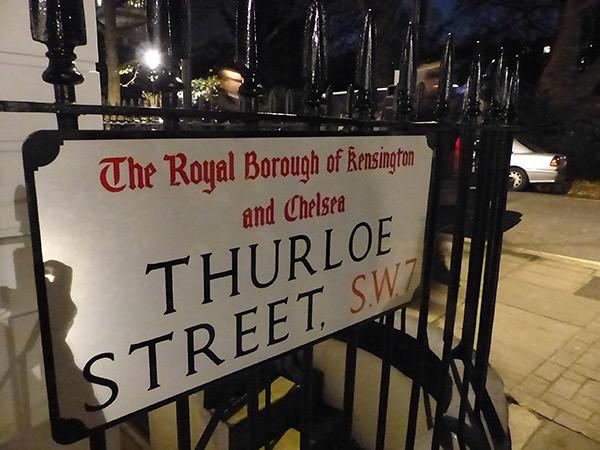 thurloe street