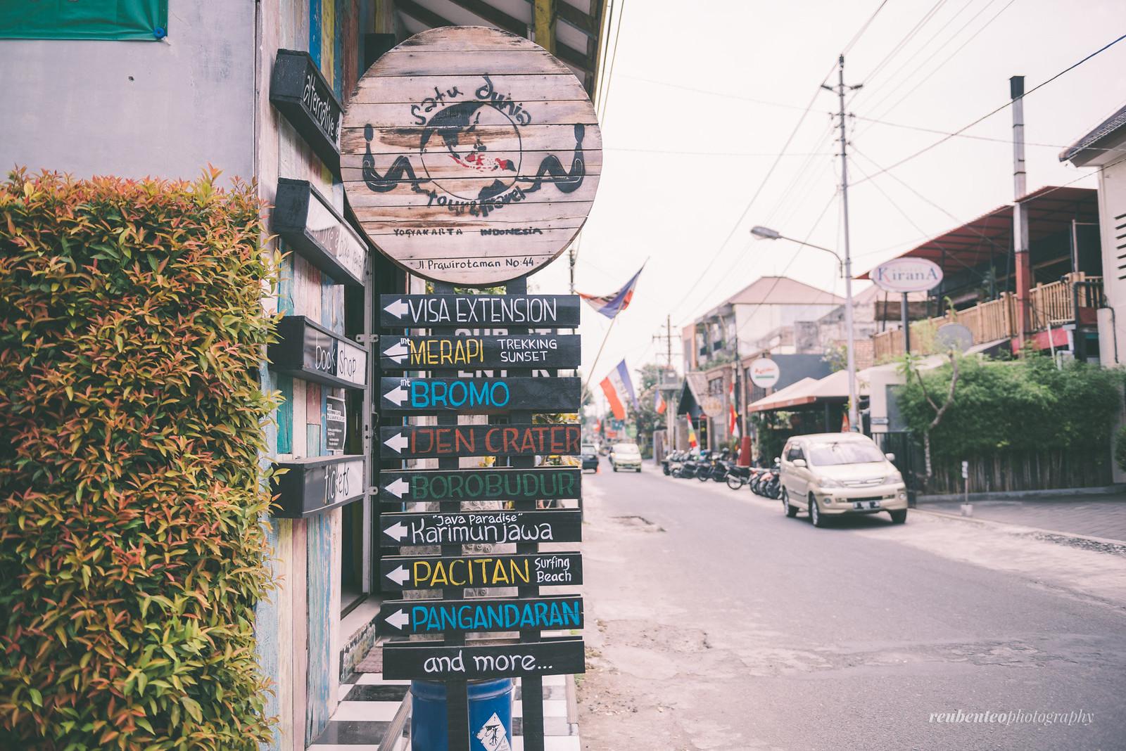 Streets of Yogyakarta