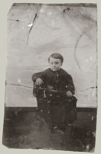 Tintype of Small Boy