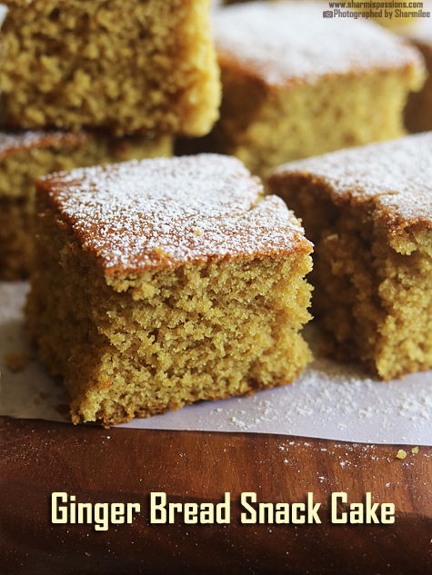 Gingerbread Snack Cake Recipe