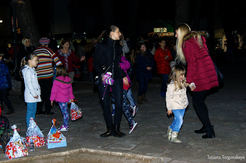 В молодежном парке во время фестиваля