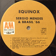 SERGIO MENDES & BRASIL '66:EQUINOX(LABEL SIDE-A)