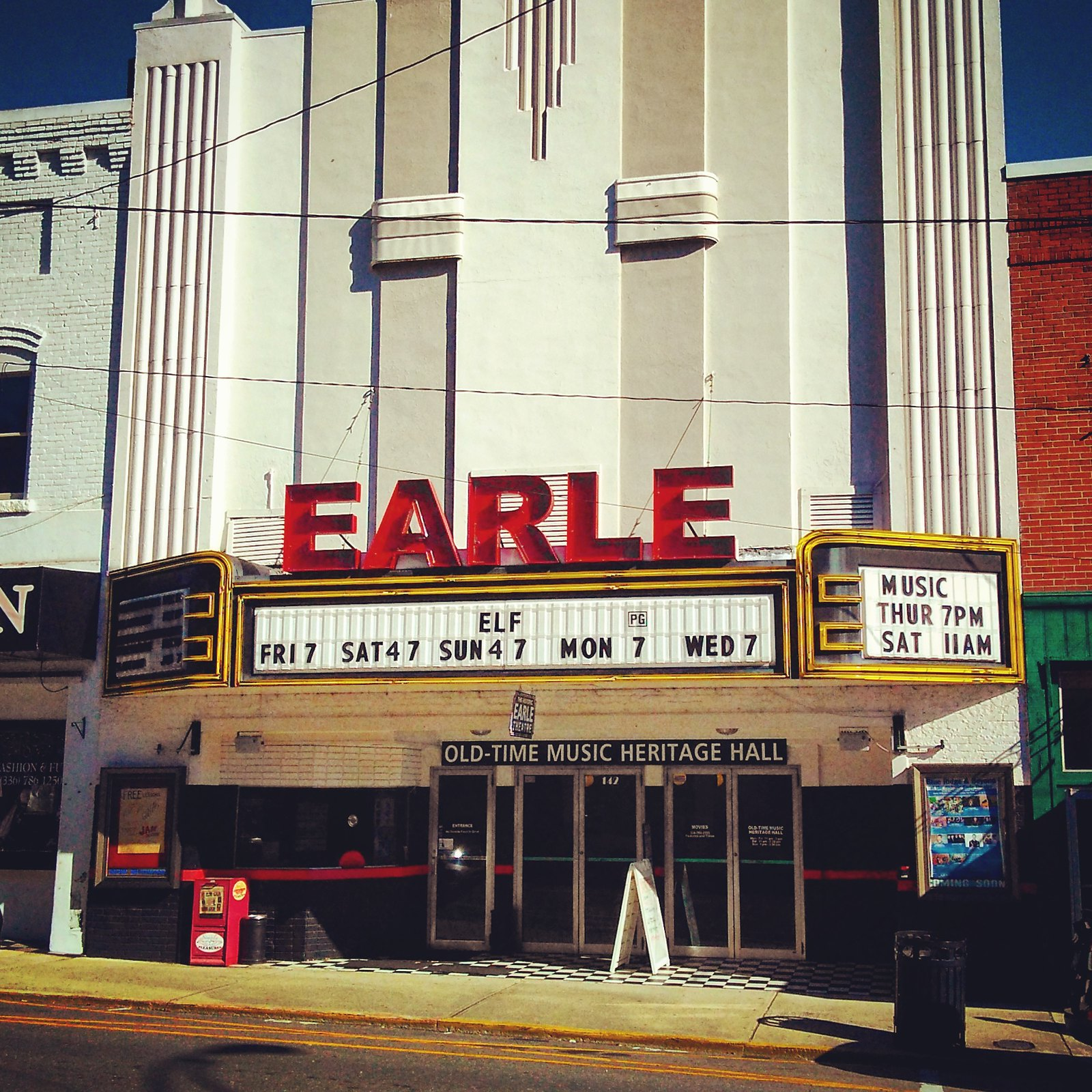 The Earle Theater-- Mount Airy, North Carolina