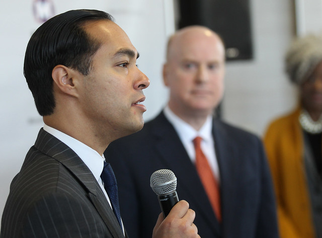 HUD Secretary Julián Castro Visits North County Transit Center