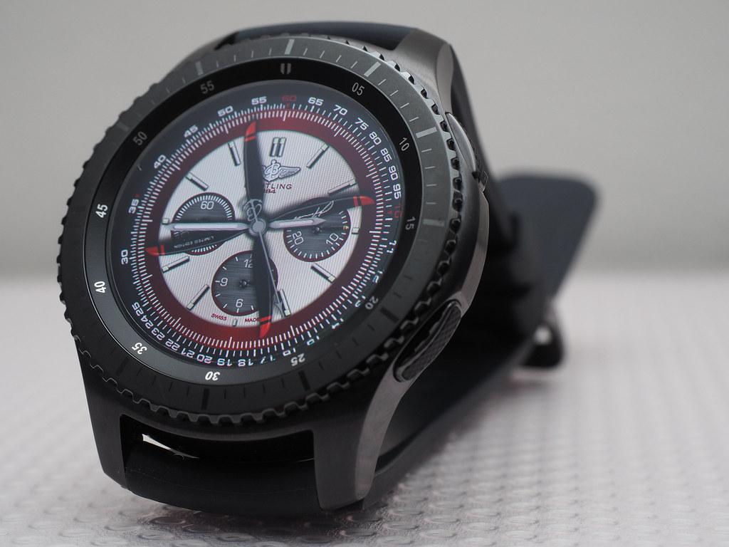 samsung gear s3 frontier smart watch. Black Bedroom Furniture Sets. Home Design Ideas