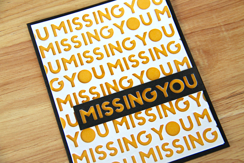 Missing You closeup