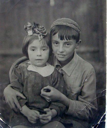 Din copilarie - cu fratele Surik