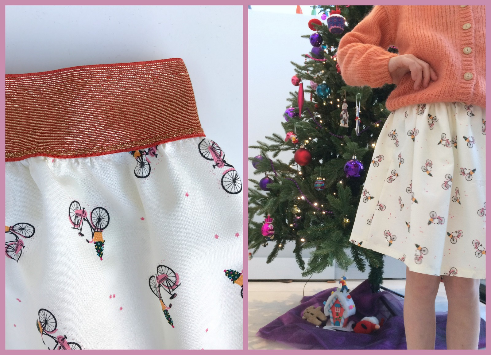 X-mas skirt (collage)
