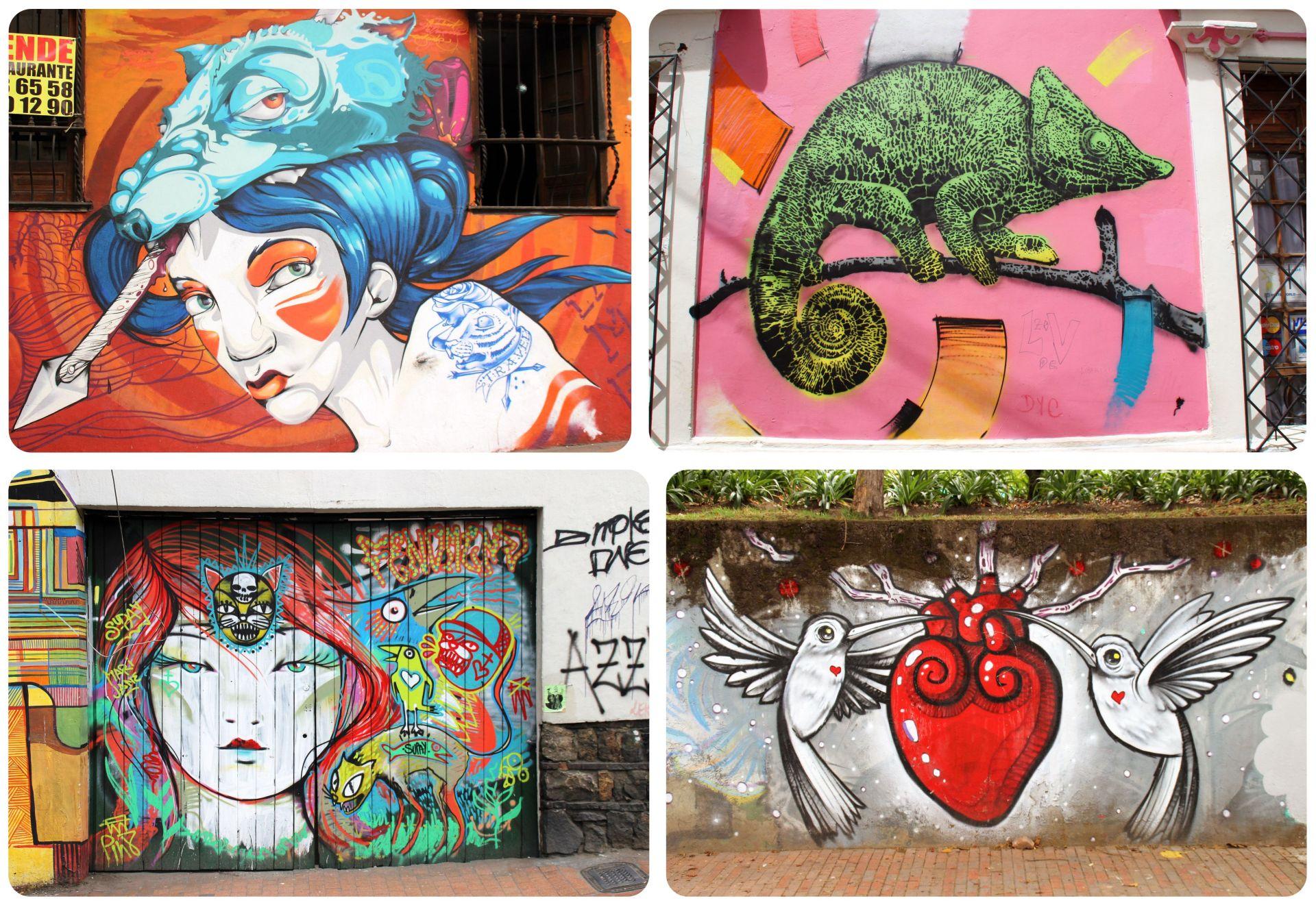 Bogota Street Art La Candelaria