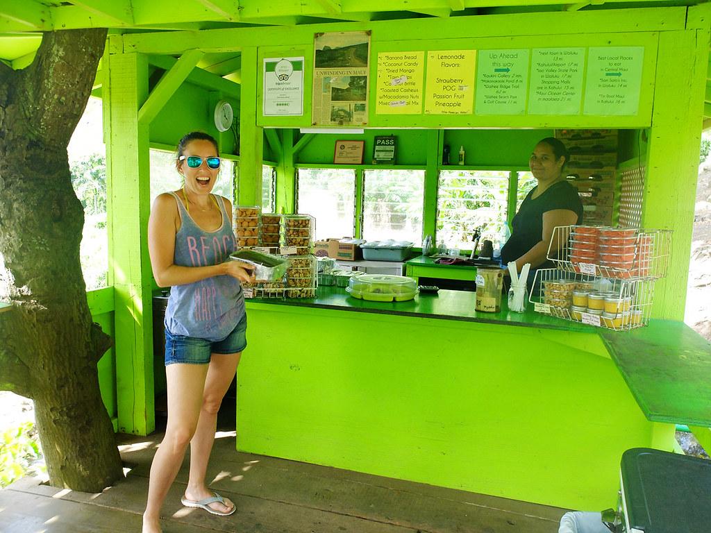 Le pain aux bananes de Julia à Maui, Hawaï