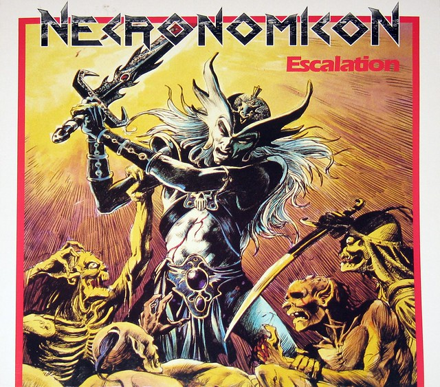 "Necronomicon Escalation12"" Vinyl LP Gramophone"