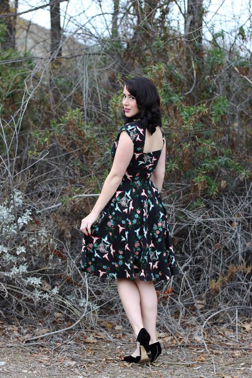 Trashy Diva Hopscotch Dress in Lovebirds Print