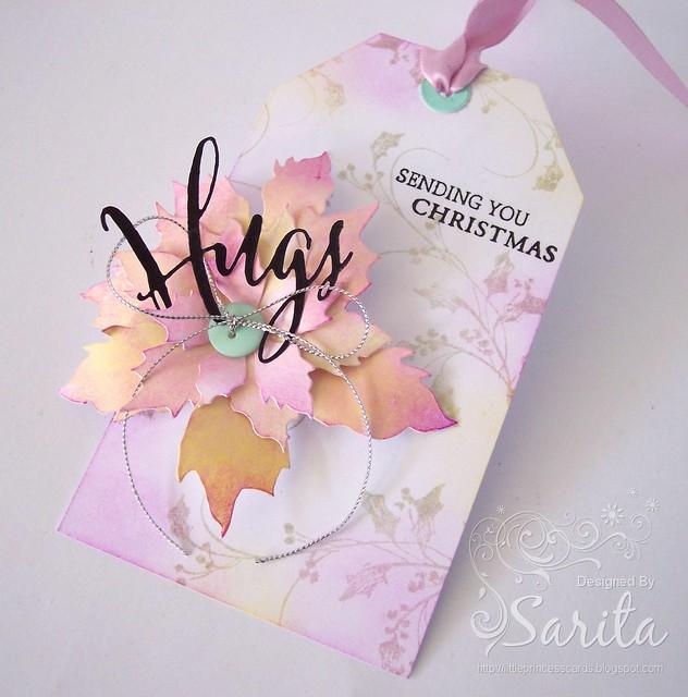 Christmas hugs tag 3