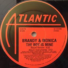 BRANDY & MONICA:THE BOY IS MINE(LABEL SIDE-B)