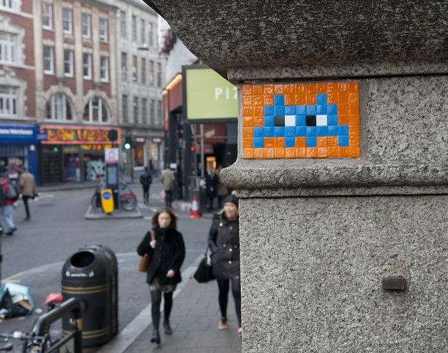 Reactivated Space Invader LDN_033