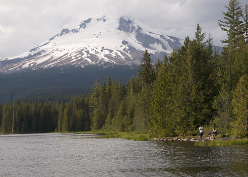 8966 fishing trillium lake sall odfw flickr photo sharing for Oregon free fishing
