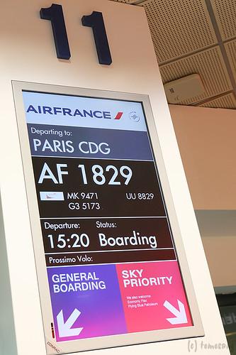 AirFrance AF 1829
