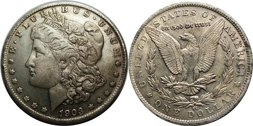 Detecting Counterfeit Morgan Dollars