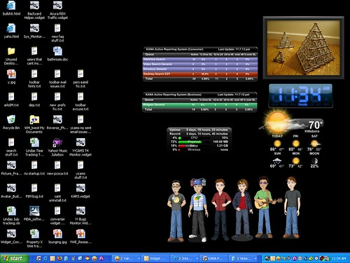 My Y! Desktop | by Linda W
