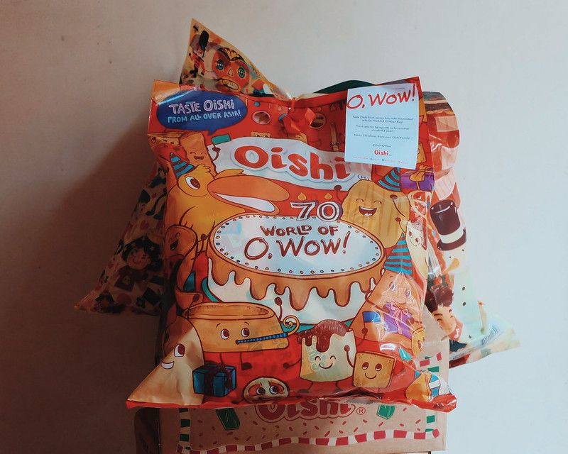 Oishi World of O, Wow Bag!