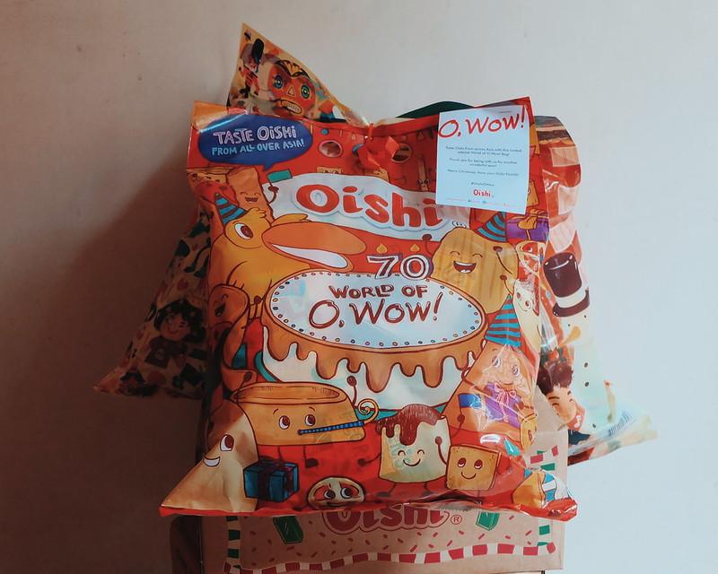 Oishi World of O, Wow Bag!