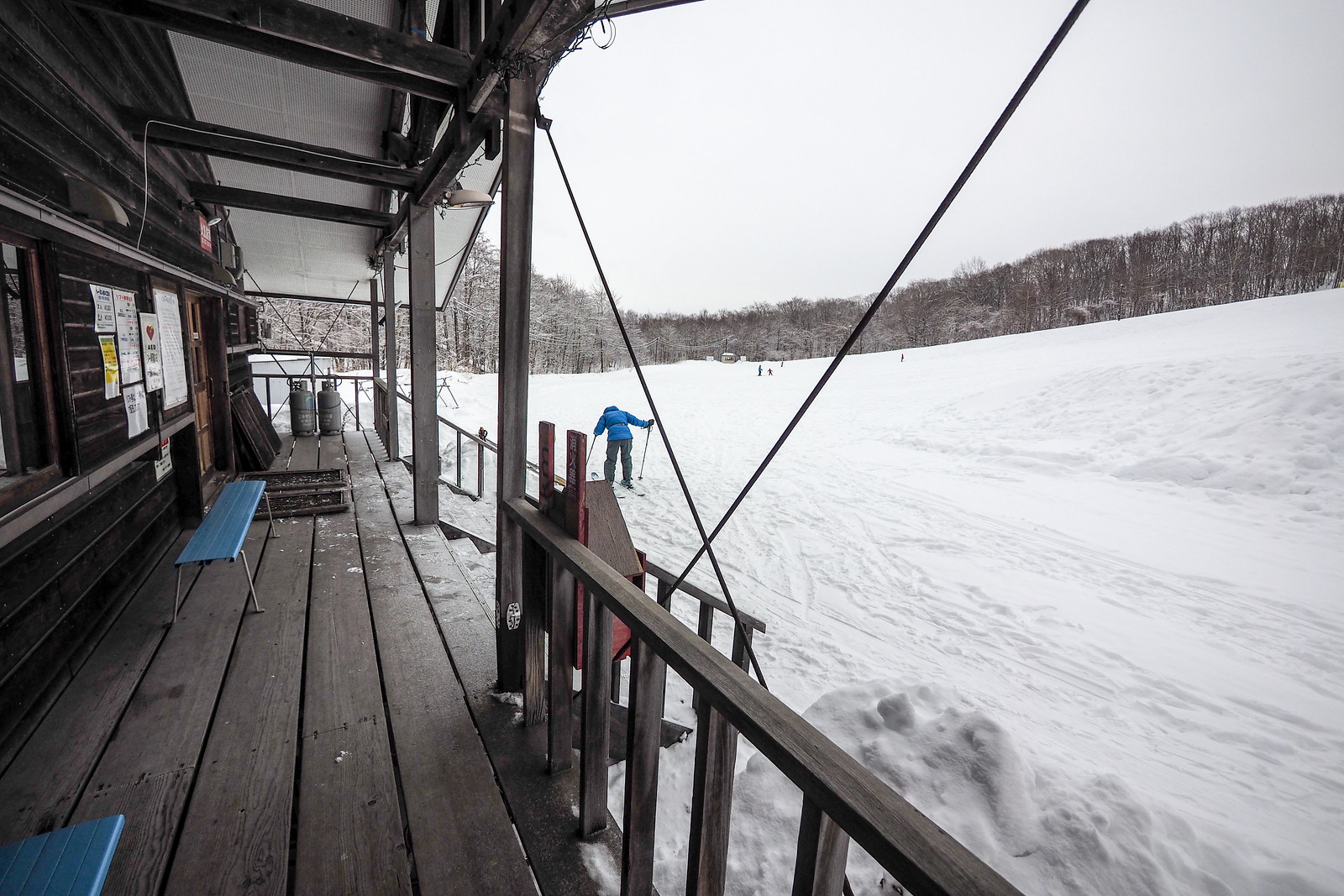 Chitose City Ski Slope (Hokkaido, Japan)