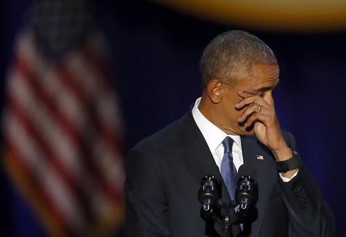 APTOPIX Obama Farewell Address