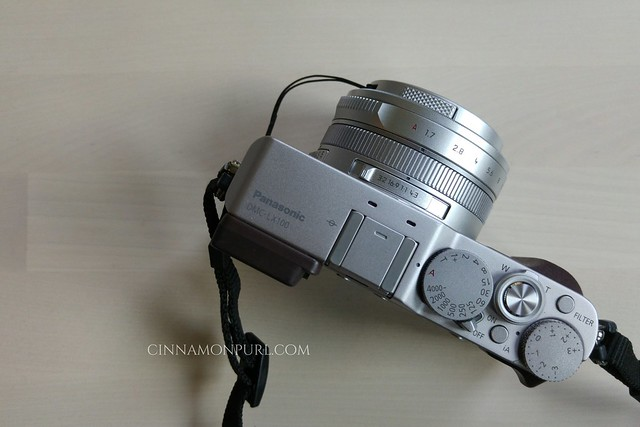 lumix lx100 top view