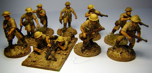 Bolt Action - British Desert Rats