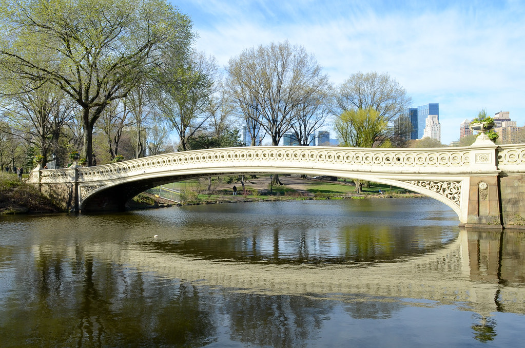Central Park, The Bow Bridge