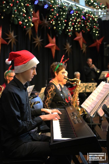 Big Band ZMS Kerst concert 2016