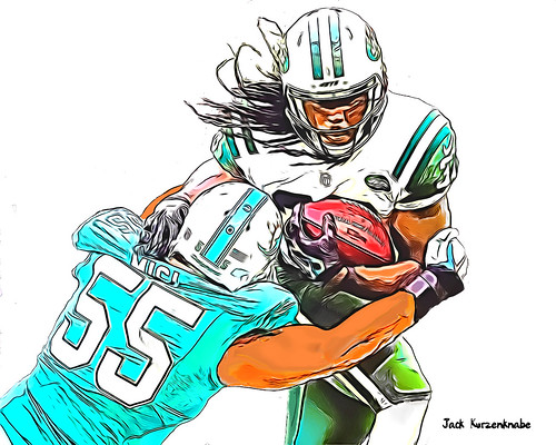 New York Jets Chris Ivory - Miami Dolphins Koa Misi