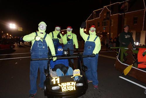 Mocksville Bed Races!