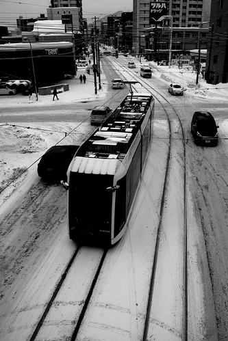 Tramcars at Sapporo on DEC 29, 2016 (39)