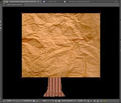 6 - import crumply paper texture