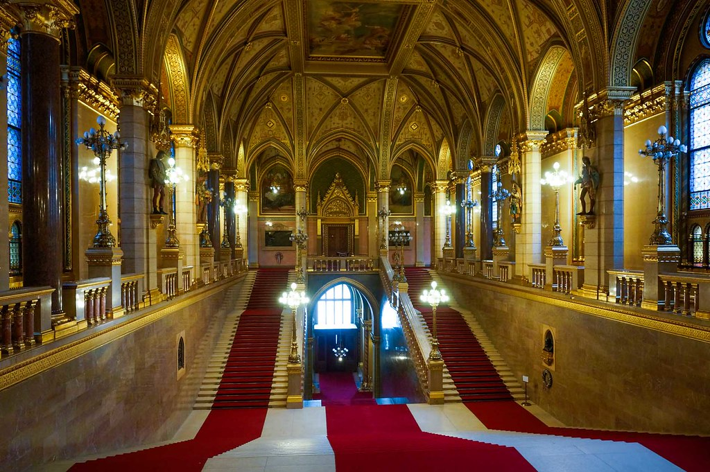 Budapest. Hungarian Parliament