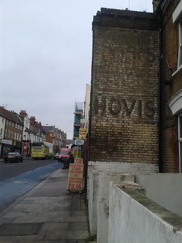 Hovis Ghost Sign on Tooting Broadway