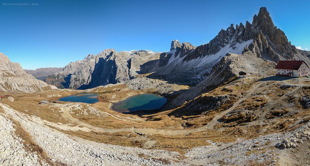 Dolomites - Paternkofel and Laghi di Piani