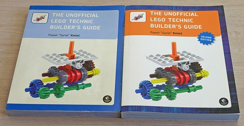 Unofficial LEGO Technic Builder's Guide 2nd edition by Pawel Sariel Kmiec 1