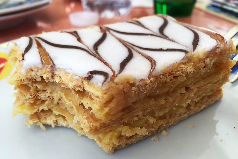 Vanilla slice, La Merenda