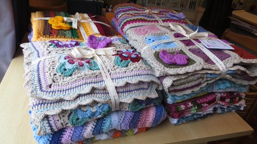 14 Sunshine Blankets delivered to Rothsay Grange, Andover thank you.  Jan you're brilliant.