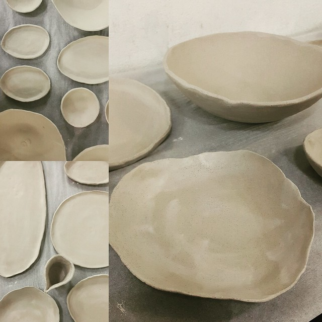 Hand thrown ceramics