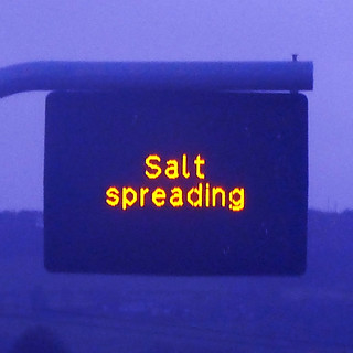 Salt spreading